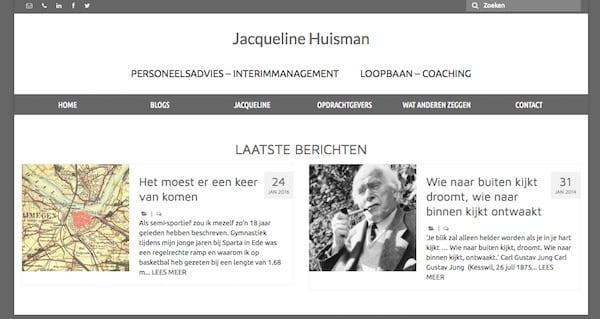 Website Jacqueline Huisman