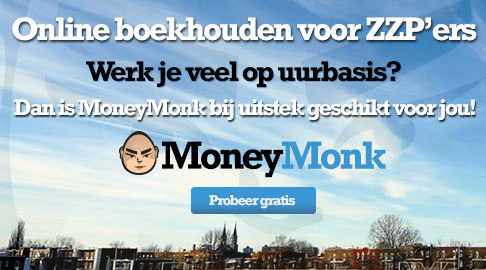 moneymonk online boekhouden voor ZZP'ers