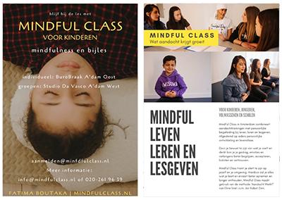Teksten en pr-materiaal voor Mindful Class Amsterdam